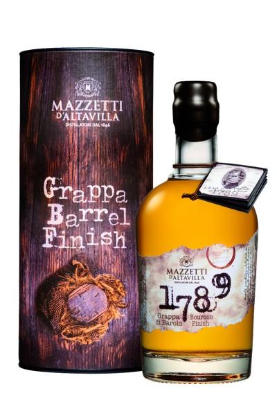 Mazzetti d'Altavilla - Grappa 1789 di Barolo Bourbon Cask Finish 0,5 l