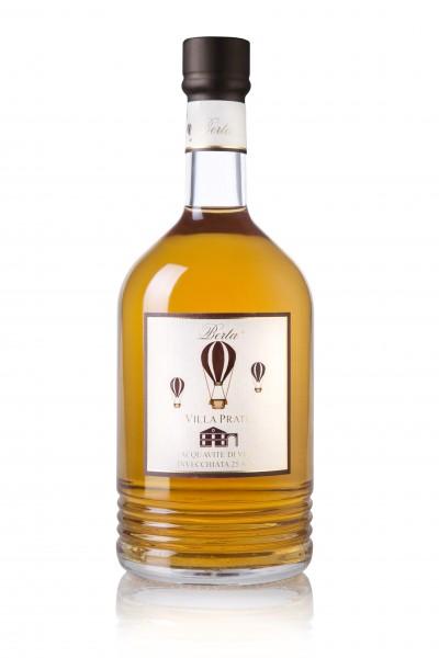 Berta - Villa Prato Brandy Aquavite di Vino Invecchiata 25 Anni1 l