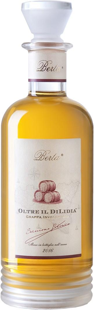 Köstlichalkoholisches - Berta Grappa Riserva Oltre Il Dilidia 0,7 l - Onlineshop Grappashop.de