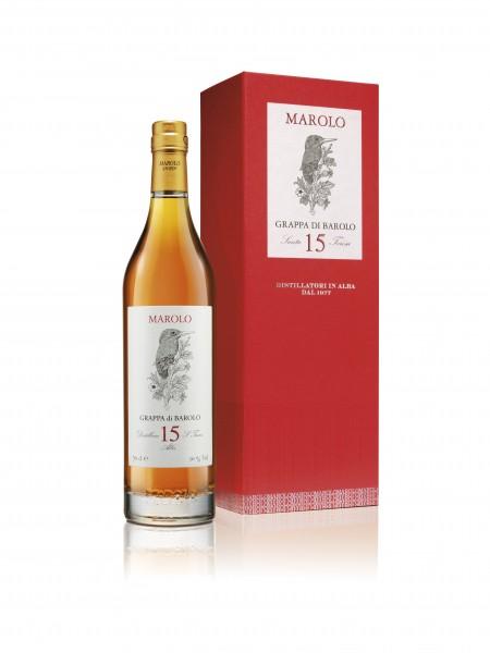 Marolo - Grappa Barolo 15 Anni 0,7 l