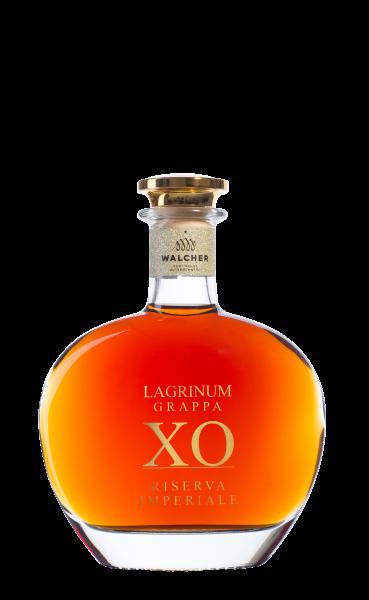 Walcher - Grappa Lagrinum XO Riserva Imperiale mit Holzkiste 0,5 l