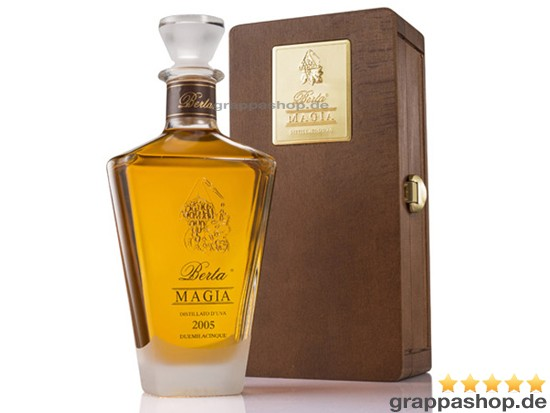 Berta Magia 0,7 l in Holzkiste