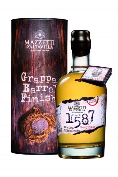 Mazzetti d'Altavilla - Grappa 1587 di Brachetto Sherry Cask Finish 0,5 l
