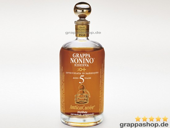 Nonino Grappa Antica Cuvée 5 years, 0,7 l