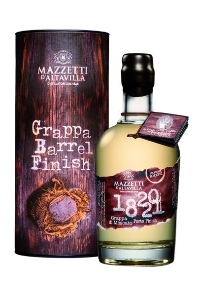 Mazzetti d'Altavilla - Grappa 1820 di Moscato Porto Cask Finish 0,5 l