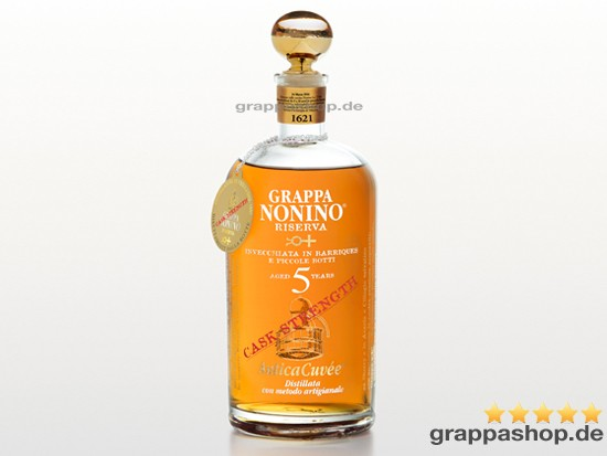 Nonino Grappa Antica Cuvèe Cask Strength 0,7 l